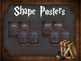 Shape Posters: Harry Potter Inspired
