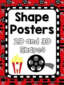 Shape Posters - Hollywood / Movie Theme