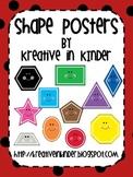 Shape Posters: Ladybug Theme