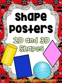 Shape Posters - Movie Theme