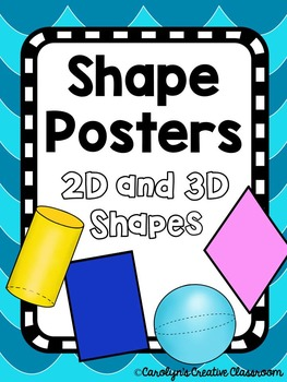 Shape Posters - Ocean Theme