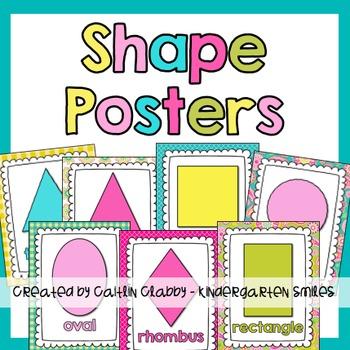 Shape Posters (Paisley)