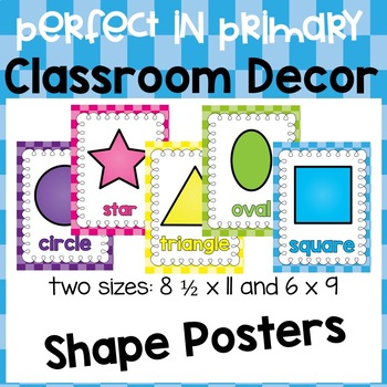 Shape Posters (Perfect in Primary edition)