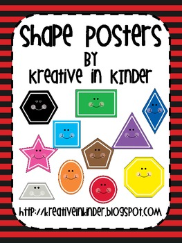 Shape Posters: Pirate Theme
