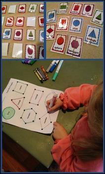 Shape Activities and Math Posters: Kindergarten Geometry