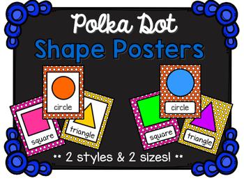 Shape Posters - Polka Dot