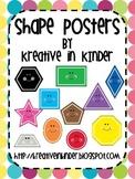 Shape Posters: Polka Dots Theme