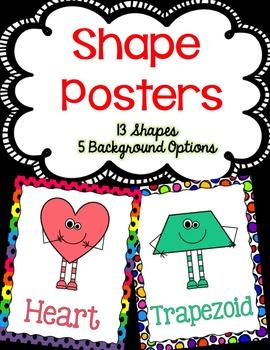 Shape Posters (Shape Buddies)