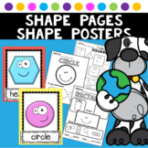 Shape Posters Shape Practice Activities Worksheets
