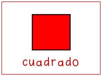 Shape Posters Spanish