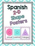 Shape Posters- Spanish