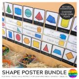 Shape Posters + Word Wall BUNDLE