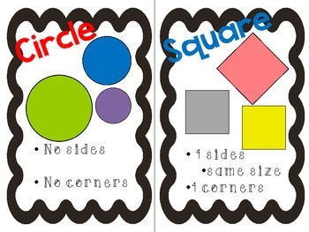 Shape Posters and Book