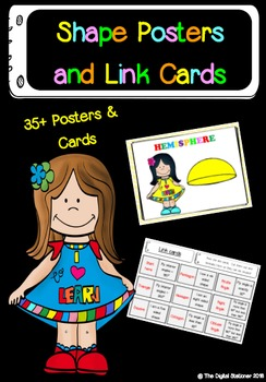 Shape Posters and Link Cards – 35+ posters and cards