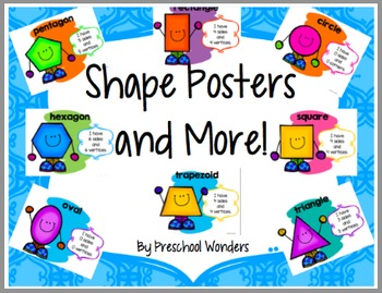 Shape Posters and More!
