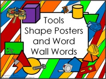 Shape Posters and Word Wall Words - Tools