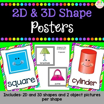 Shape Posters - bright and colorful