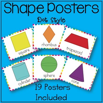 Shape Posters for the Classroom