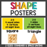 Shape Posters in 2 sizes
