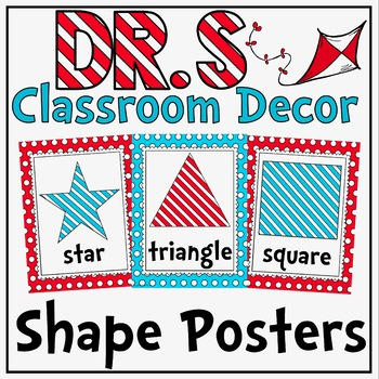 Shape Posters in a Dr S Decor Theme