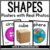 Shape Posters with Real Pictures - Black and White