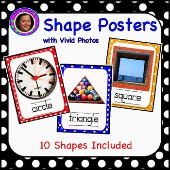Shape Posters with Vivid Photographs