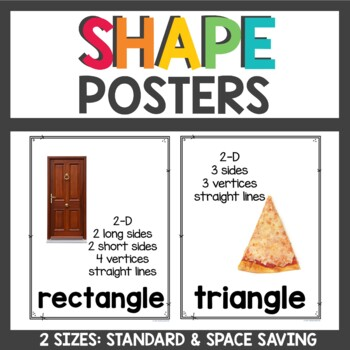 Shape Posters with real images