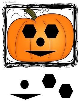 Halloween Shape Practice - Jack O Lanterns