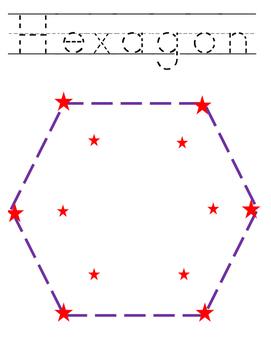 Shape Practice Pages