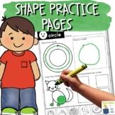 Shape Practice Pages for 2D Shapes | Shapes Worksheets for