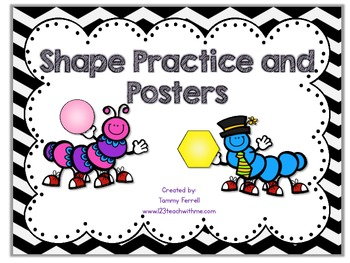 Shape Practice and Posters