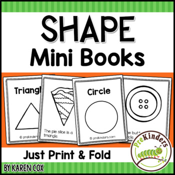 Shape Print & Fold Mini Books