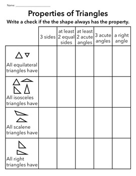 Shape Properties - GREAT FOR SUMMER!
