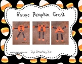 Shape Pumpkin Craftivity