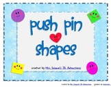 Shape Push Pin Activities
