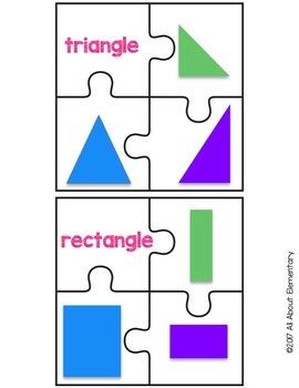 2-D Shape Puzzles