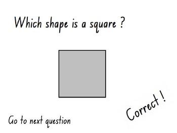 Shape Quiz  (PowerPoint Quiz)