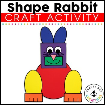 Shape Rabbit Cut and Paste
