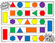 Identifying Shapes and Colors Math Game