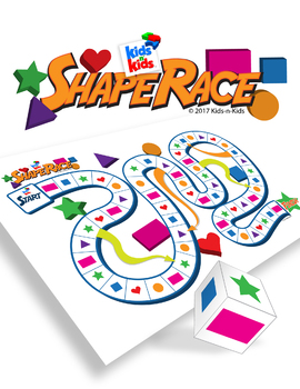 Shape Race, A boardgame