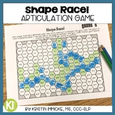 Shape Race! Articulation Game