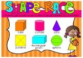 Shape Race (Solid Figures/3D Shapes)