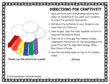 Rainbow Craft {Shape Rainbow}