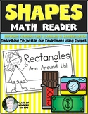 Shape Reader {RECTANGLE} Kindergarten & First Grade Reading & Math
