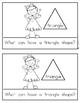 Shape Reader {TRIANGLE} Kindergarten & First Grade Reading & Math