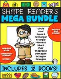 Shape Readers for Math {MEGA BUNDLE} Kindergarten & First Grade Reading Too!