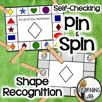 Shape Recognition - Self-Checking Math Centers