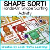 Shape Recognition Activities: Shape Sort! Hands-On Shape S