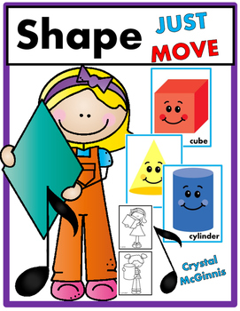 Shape Recognition JUST MOVE! (A Get Up and Move Around the Classroom Game)