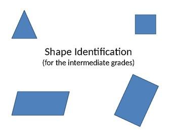 Shape Recognition Quiz (for the intermediate grades)